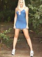 Blue Mini And Heels