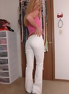 Don't miss this new Brandy set....she's extra hot in white pants!