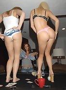 Three girls getting dumb drunk