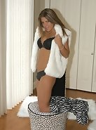 Zebra Boots / Party Girl