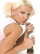 Svetlana focused in this strip photo show