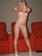 Pink bra, pink panties