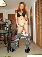 Nikki as an army brat