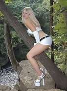 White Hot In The Woods